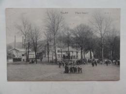 Esneux / Tilff, Place Saucy  1913 - Esneux