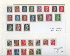 Jugoslavia 1945 - Provvisori Maribor/ Murka-Sobota - Michel 17/34--35/46 - 1945-1992 República Federal Socialista De Yugoslavia