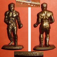 Vintage Figurine Publicitaire Café MOKAREX MOKALUX Sport Boxe Robert Cohen, Boxeur - Unclassified