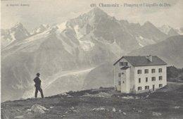 74 CHAMONIX MONT BLANC PLANPRAZ ET AIGUILLE DU DRU Editeur GARDET 433 - Chamonix-Mont-Blanc