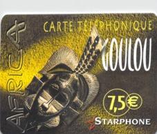 Carte Prépayée - STARPHONE GOULOU  -  7.5 € - Andere Voorafbetaalde Kaarten