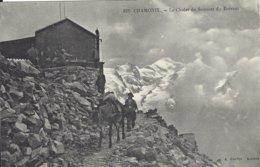 74 CHAMONIX MONT BLANC MULETIER DEVANT LE CHALET DU BREVENT  Editeur GARDET 821 - Chamonix-Mont-Blanc