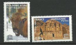 """FR Service YT 132 & 133 """" UNESCO """" 2005 Neuf** - Servicio"""