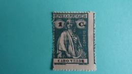 Cap Vert - CAPO VERDE - 1913 1c Vert Foncé -  Cérès -MNH  Avec Gomme D'origine - Trace Légère - Isola Di Capo Verde