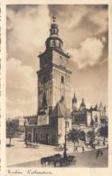 KRAKAU Rathausturm, Fotokarte Mit 5 Gro Marke Und Sonderstempel - Polen