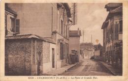 78-CHAMBOURCY- LA POSTE ET GRANDE RUE - Chambourcy