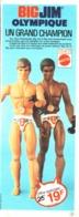 "PUB POUPEE "" BIG JIM  "" "" BIG JIM OLYMPIQUE ""    1976  ( 1 ) - Barbie"