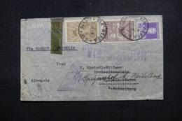 ARGENTINE - Enveloppe De Buenos Aires Pour L 'Allemagne En 1934 Par Condor/ Zeppelin , Cachet Triangulaire  - L 45078 - Argentina