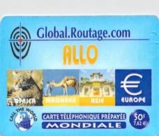Carte Prépayée -GLOBAL ROUTAGE COM - Andere Voorafbetaalde Kaarten