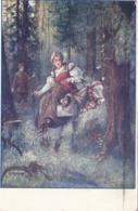 KÜNSTLERKARTE Gel.1912, Rollenstempel - Künstlerkarten