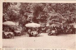 S2924 Cpa 91 Ballancourt - L'Ile Verte, Goumont Propriétaire - La Terrasse - Ballancourt Sur Essonne