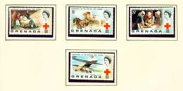 GRENADA - 1970 Red Cross Set Unmounted/Never Hinged Mint - Grenade (...-1974)