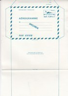 FRANCE - AEROGRAMME  SPECIMEN BLEU CONCORDE 1.60  / TBS - Enteros Postales