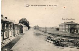 VELAINE SUR SAMBRE (Sambreville) Prés De Boignée Et Ligny. Rue Du Tram. Edit: Francotte. - Belgique