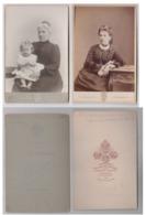 Lot 2 Photos Cartons  Russie - Antiche (ante 1900)