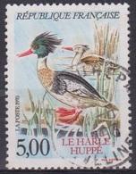Canards, Palmipèdes - FRANCE - Harle Huppé - N° 2788 - 1993 - Used Stamps