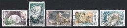 France 1987 : Timbres Yvert & Tellier N° 2452 - 2453 - 2462 - 2463 - 2464 - 2465 - 2466 - 2467 - 2468 Et 2469 Avec Oblit - France