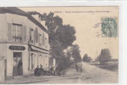 VALENTON : Devanture De L'Hôtel/Restaurant Des 2 Colonnes (E.GABRIEL) Route De Brévannes - Commerce - Valenton