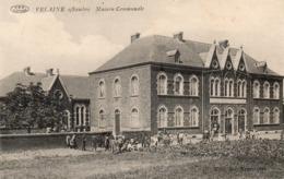 VELAINE SUR SAMBRE (Sambreville) Prés De Boignée Et Ligny. MAISON COMMUNALE. Edit: Francotte. - Belgique