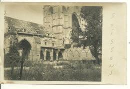 02 - SOISSONS / CARTE PHOTO ALLEMANDE - Soissons