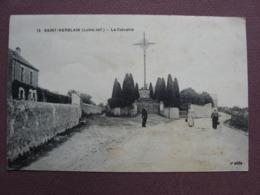 CPA 44 SAINT HERBLAIN Le Calvaire  ANIMEE 1919 - Saint Herblain