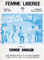 PARTITION COOKIE DINGLER  - FEMME LIBEREE - 1983 - EXC ETAT COMME NEUF - - Music & Instruments