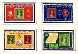 GRENADA - 1971 Postal Service Set Unmounted/Never Hinged Mint - Grenade (...-1974)