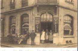 CPA Photographique -  Café A La Navigation - Namur - Coin Place Kegeljan Et Du Bld Ad Aquam - Roland-Daix - Vers 1920 - Namur