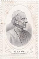 Image Pieuse : Holy Card - Santino : Gaufrée : - LEO P.P. XIII - - Images Religieuses