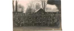Lockstedter Lager  - Carte Photo   - Soldats Allemands  -  1916 - Allemagne