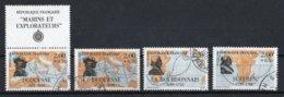 France 1988 : Timbres Yvert & Tellier N° 2517 + Vignette - 2518 - 2519 - 2520 - 2521 Et 2522 + Vignette Avec Oblit.ronde - Used Stamps