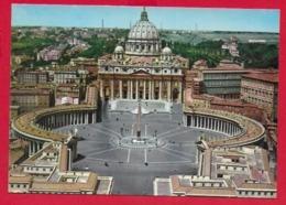 CARTOLINA NV ITALIA - ROMA - Basilica Di S. Pietro - 10 X 15 - San Pietro