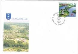 34331. Carta F.D.C. IGNALINAI (Lietuva) Lituania 2006. Tema Europa - Lituania
