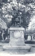 75 - PARIS 06 - Place St Germain Des Pres - La Statue De Diderot - Distretto: 06
