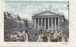 LONDON ROYAL EXCHANGE, Karte Gel.1904 - Sonstige
