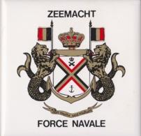 Belgique, Force Navale. Céramique. - Militaria