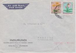 LETTRE RUANDA URUNDI - Ruanda-Urundi
