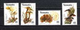 VANUATU  N° 686 à 689  NEUFS SANS CHARNIERE  COTE  9.60€  CHAMPIGNON - Vanuatu (1980-...)