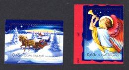 FINLANDE 2002 - Yvert N° 1593/1594 - Facit 1627/1628 - NEUF** MNH - Noël - Finland