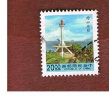 TAIWAN (FORMOSA) - SG 2013  -    1992  LIGHTHOUSES:  YEH LIU     -  USED - 1945-... Repubblica Di Cina