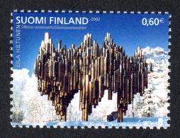 FINLANDE 2002 - Yvert N° 1590 - Facit 1624 - NEUF** MNH - Nordem, Art Contemporain - Finland