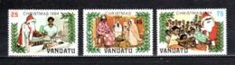 VANUATU  N° 702 à 704  NEUFS SANS CHARNIERE  COTE  5.60€  NOEL - Vanuatu (1980-...)