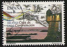 2018-ED. 5202 - Efemérides. 300 Años Casa De Contratación De Cádiz-USADO- - 1931-Tegenwoordig: 2de Rep. - ...Juan Carlos I