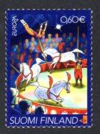 FINLANDE 2002 - Yvert N° 1589 - Facit 1618 - NEUF** MNH - Europa, Le Cirque - Ongebruikt