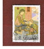 TAIWAN (FORMOSA) - SG 2064  -    1992  PARENT-CHILD RELATIONSHIP    -  USED - 1945-... Repubblica Di Cina