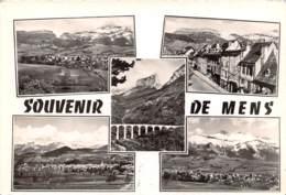 Les Belles Alpes Francaises Souvenir De Mens 1(scan Recto-verso) MA459 - Mens