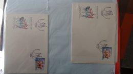 Dispersion D'une Collection D'enveloppe 1er Jour Et Autres Dont 172 EUROPA (Madeire Et Belgique) - Colecciones (en álbumes)