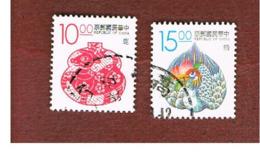 TAIWAN (FORMOSA) - SG 2115.2116  -    1993  LUCKY ANIMALS   -  USED - 1945-... Repubblica Di Cina