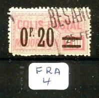 FRA YT CP 34 En Obl - Paquetes Postales