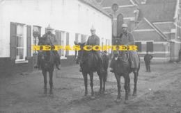 Tournai - Krieg WW1 : 3 Cavaliers Allemands Près De L'église De Celles En Hainaut - 1914 - Celles